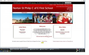 Link to website for Norton St Philip First School